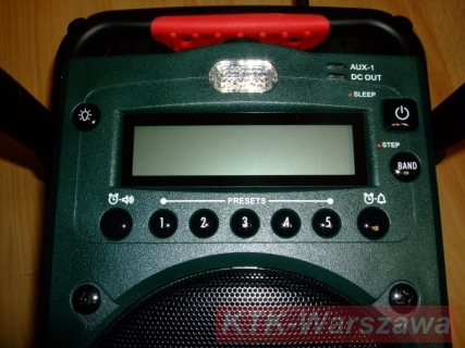 Radio budowlane metabo